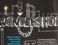 Headline Illustration for Popular Mechanics Magazine