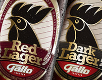 Cerveza Gallo Red Lager & Dark Lager