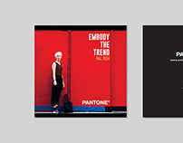 PANTONE Fashion Brochure/Catalog