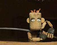 Stop-motion Animation THE Ninja Indoorsman