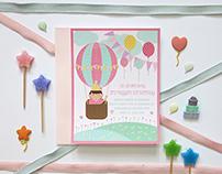 A Hot Air Balloon Themed Birthday