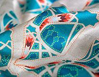 Spring/Summer 2014/15 Deryn Schmidt fabric print