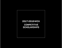 2018 MICA COMPETITIVE SCHOLARSHIPS