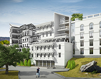 Hotel project in Old Tbilisi