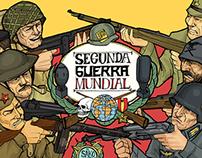 Segunda Guerra Mundial personajes y armas