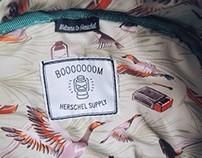 Booooooom x Herschel Supply pattern design