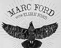 Marc Ford Holy Ghost Tour Artwork
