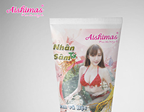 White Shower Cream Aishimas