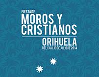 Fiestas MOROS Y CRISTIANOS de ORIHUELA - 2014