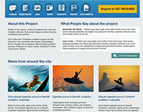 EngagementHQ Homepage Layouts