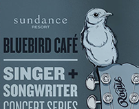 Blue Bird Café Concert Series Collateral