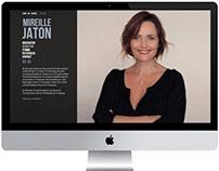 Corporate Design & Webauftritt für Mireille Jaton