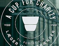 Visual identity & roll out of charity pop-up café