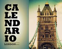 London Calendar 2015