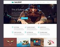 Download Salient v4.5.1 Responsive Multi-Purpose Them