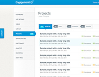 EngagementHQ Admin Interface
