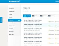 EngagementHQ Admin Interface