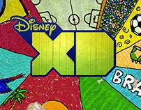 Disney XD Rebrand -  Brasil World Cup 2014