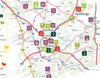 Carte interactive Vallées des Saveurs 2014