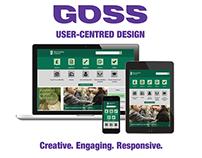 GOSS Websites, CMS and User-Centred Design