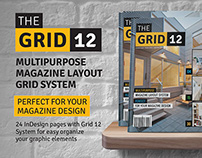 Grid 12 Multipurpose Magazine Layout