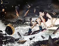 Sport in the Future - Digital Illustration
