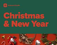 Christmas & New Year Mockups