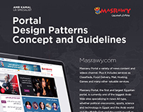 Masrawy.com Design Concept and Guidelines