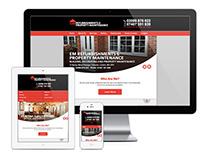 Website design for EM Refurbishments