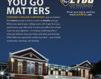 ETBU Recruitment Print Ad