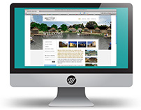 Web design for Direct Leisure Homes