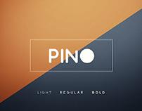 Pino font - Free font. freebie