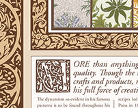 William Morris Poster
