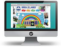 Primary school web design