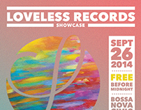 Loveless Records Showcase - July 2014