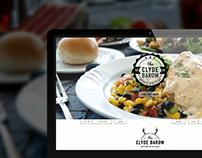 The Clyde Barow restaurant website template