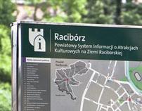 Raciborz wayfinding