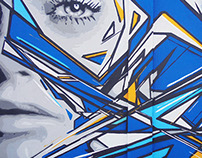 Muro Azul | Galeria de Arte Urbana de Lisboa