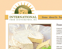 Web Design: International Food Distributors, Inc.