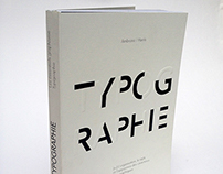 typography book cover