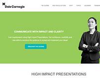 Dale Carnegie LandingPages