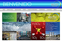 Holtec Ltda. Website | Sitio Web (ES)