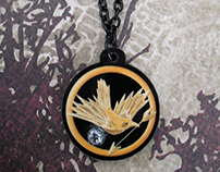 Hunger Games Jewelry and Phone Charms