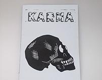 "Illustration book death ""KARMA"""