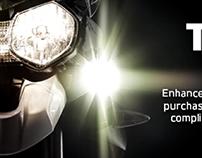 Triumph Extra Digital Ad Campaign