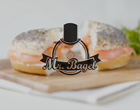 Oh! Sra. torta, oh! Sr. bagel. ¡No!  MR. BAGEL porfavor