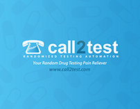 Call2Test Postcard - Front