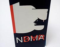 """Dépliant sur un graphiste """"Noma Bar"""""""