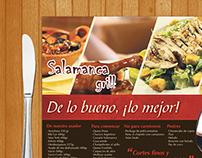 Manteleta Salamanca Grill