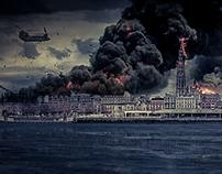 Antwerp is Burning (Mattepainting)